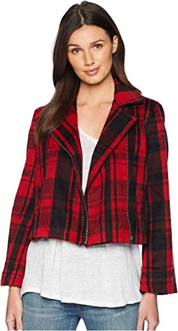 Out of The Woods Plaid Jacket