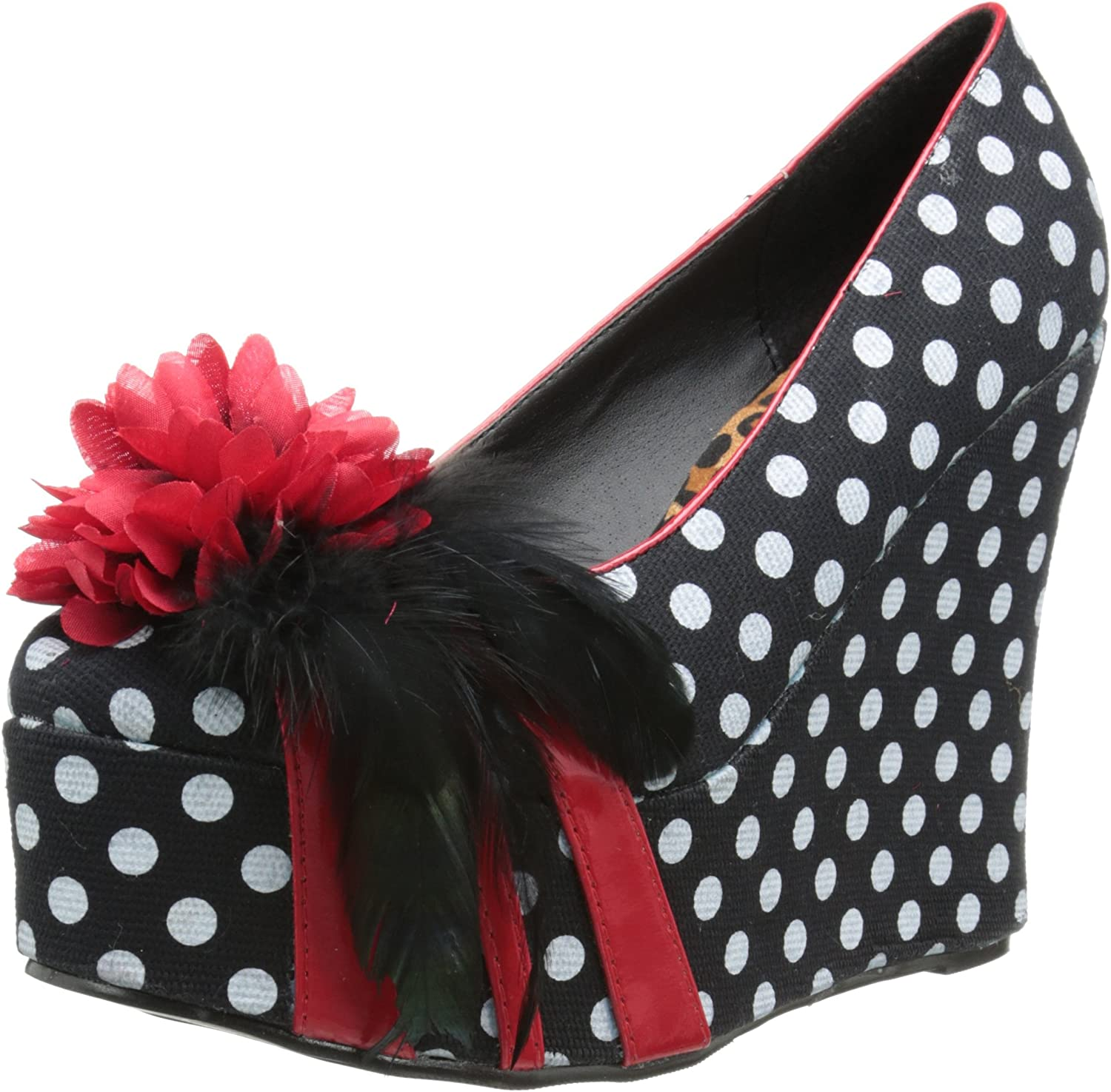Bettie Page Online limited product Women's Pump Fresno Mall Edna