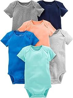 Baby Boys' 6-Pack Short-Sleeve Bodysuit