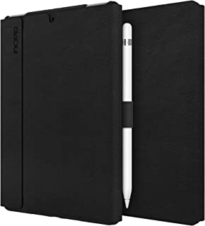 Incipio Faraday Folio Case Compatible with Apple iPad Mini 5 (2019) / Mini 4 - Black [Wake/Sleep I Pencil Holder I Faux Le...