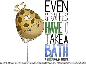 Even Giraffes Have To take A Bath