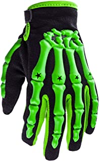 Typhoon Youth Kids Motocross Motorcycle Offroad MX ATV Dirt Bike Gloves - Green - Small
