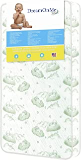 Dream On Me 96 Coil Spring Crib and Toddler Bed Mattress, 6