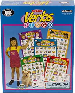 Say & Do Verbs Bingo Game - Super Duper Educational Learning