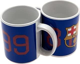 F.C. Barcelona Official FC BARCELONA 1899 blue ceramic mug …