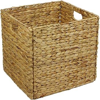 Anial-design QUADER - Caja de almacenamiento para estantería (jacinto de agua, apta para estantería IKEA Kallax): Amazon.es: Hogar