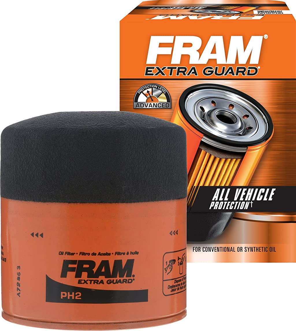 FRAM PH2 Extra Guard Passenger Car Spin-On Oil Filter