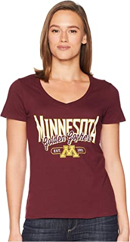 Minnesota Golden Gophers University V-Neck Tee