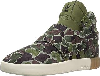 adidas Originals Kids' Tubular Invader Strap J Sneaker
