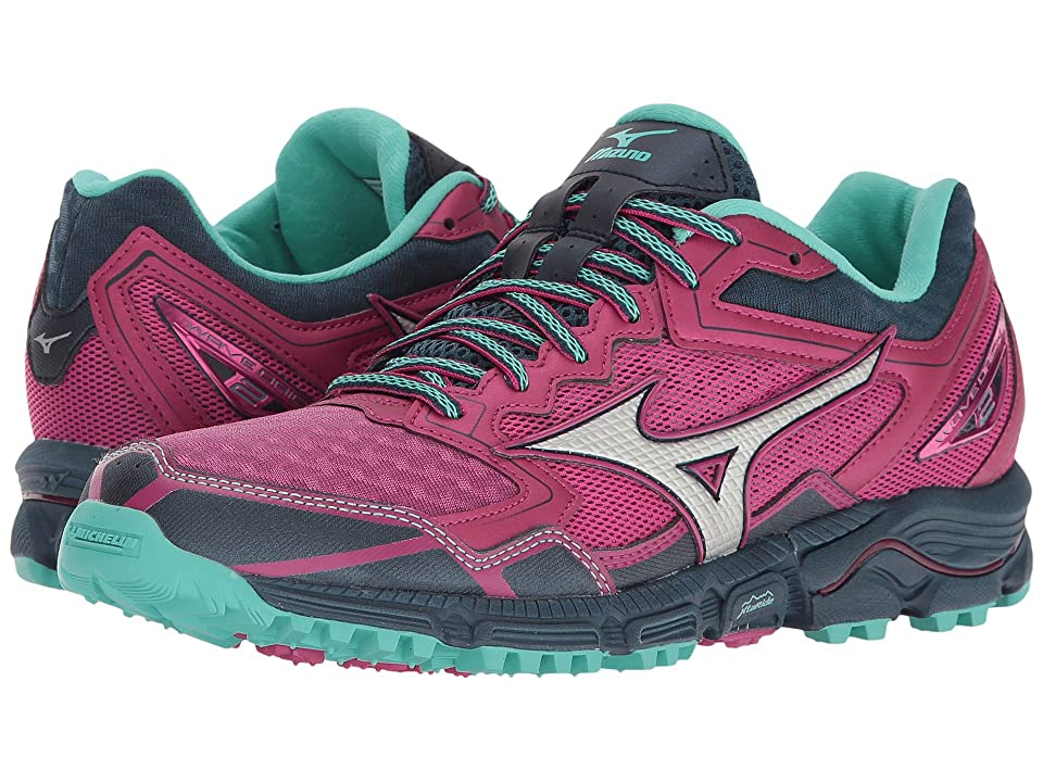 Mizuno Wave Daichi 2 (Beetroot Purple/Turquoise/Dark Shadow) Girls Shoes