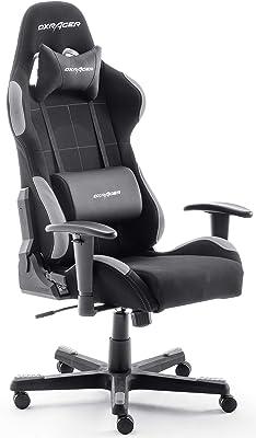 DX RACER 5 - Silla de escritorio/oficina/ gaming con ruedas, altura ajustable