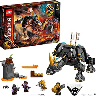 LEGO NINJAGO Zane's Mino Creature 71719 building set with dungeon and 4 minifigures, Toy for Boys and Girls 8+ years old (...