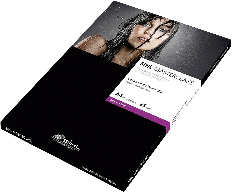 Sihl Lustre Photo Paper 300g., A3, A3, A3, 25 Bl. B00BBCBLHW | Praktisch Und Wirtschaftlich  116954