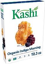 Kashi Organic Indigo Morning Cereal - Gluten Free, Non-GMO Project Verified, 10.3 Oz Box