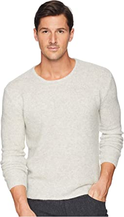 Tuck Stitch Long Sleeve Crew Y2476U3
