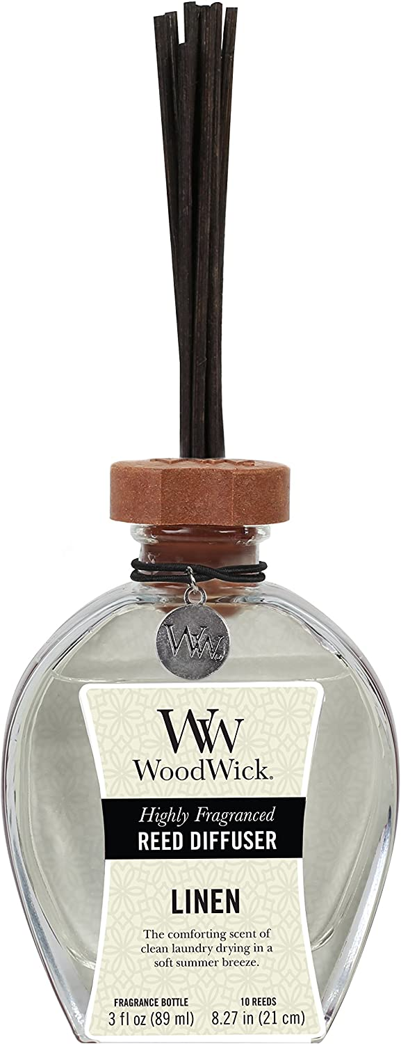 Woodwick Candle Reed Diffuser 3 Oz. - Linen