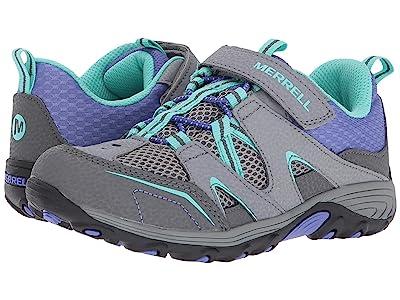 Merrell Kids Trail Chaser (Big Kid) (Grey/Multi) Girls Shoes