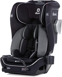 Diono Radian 3QXT Latch, All-in-One Convertible Car Seat, Black Jet