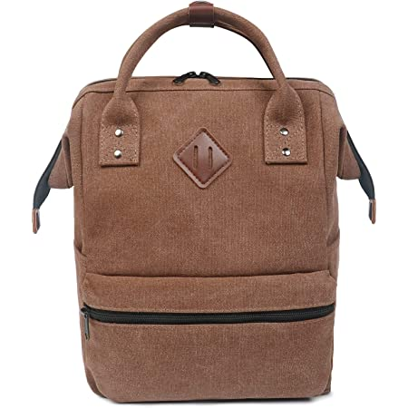 16 oz Canvas Casual teens Backpack FITMYFAVO 15.6 Doctor Style Laptop Backpack for Women/&Men School Book Bags for College