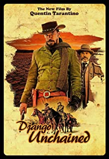 DJANGO UNCHAINED Movie Poster Quentin Tarantino Western 24x36inch