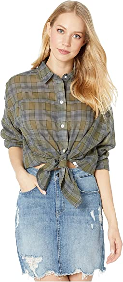 Wilson Plaid Dolman Long Sleeve