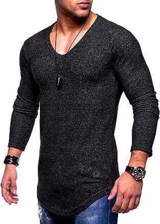 BEHYPE Men/'s Sweater Poloshirt Sweatshirt Longsleeve OCEAN R-0740
