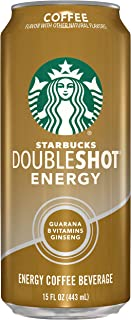Starbucks, Doubleshot Energy Drink, Coffee, 15 Fl Oz (Pack of 12)