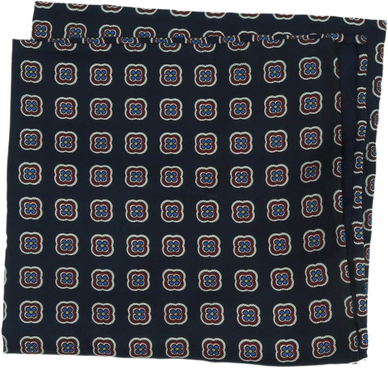E.Marinella Men's Printed Pocket Square