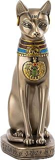 古代エジプトのバステト神 リアルブロンズ風彫像、高さ約20cm / Ancient Egyptian Bastet Real Bronze Powder Cast Statue, 8-inch 6956(並行輸入品