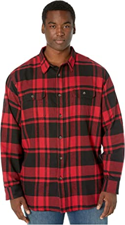 Black/Charcoal Red Plaid
