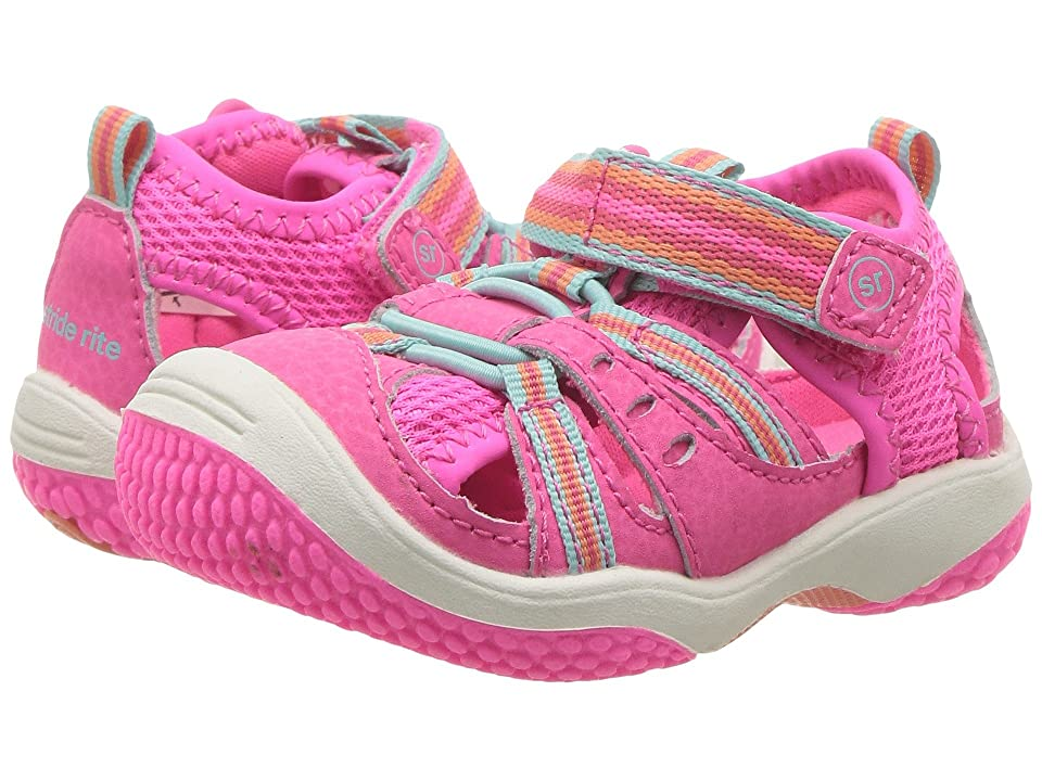 Stride Rite Baby Petra (Infant/Toddler) (Pink Multi) Girl