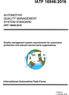 IATF 16949:2016 Quality management system for organizations in the automotive industry