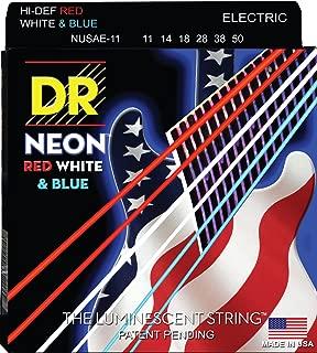 DR Strings HI-DEF NEON Electric Guitar Strings (NUSAE-11)