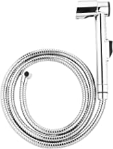 Hindware Health Faucet F160023 ABS with 1.2m SS Flexible Tube & ABS Wall Hook