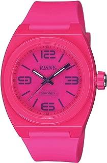 [リスニー]RISNY 腕時計 電子マネーEdy(エディ)搭載 ピンク RS-001M-05