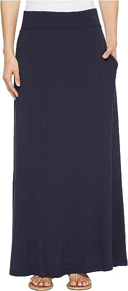 Pendleton - Jersey Maxi Skirt