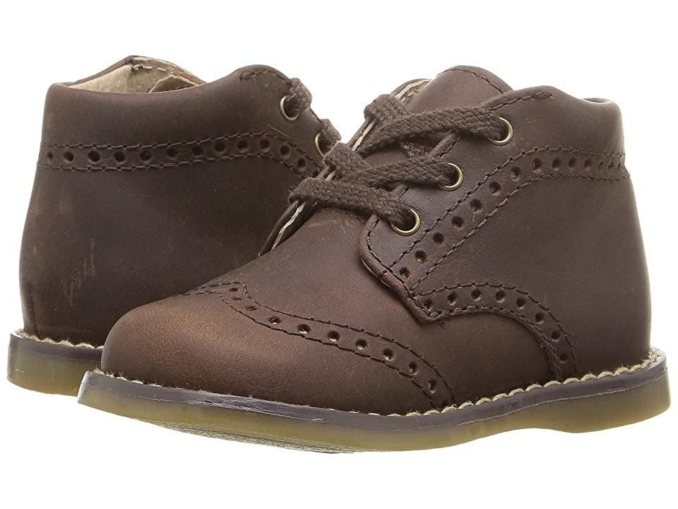 FootMates Cole (Infant/Toddler) (Brown Oiled) Boy