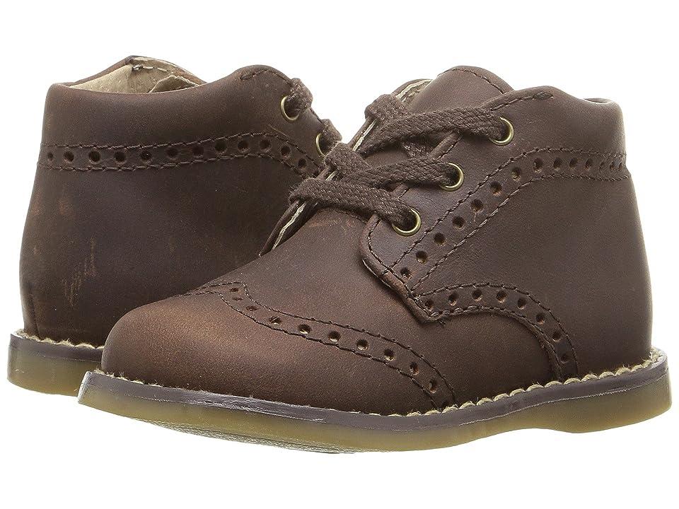 FootMates Cole (Infant/Toddler) (Brown Oiled) Boy