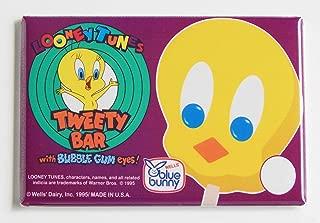 Tweety Bird Ice Cream Sign Fridge Magnet (2 x 3 inches)
