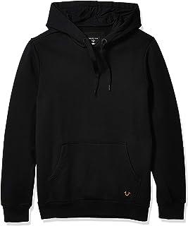True Religion Men's Embroidered Pullover Hoodie Hooded Sweatshirt