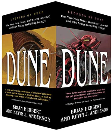 Dune Boxed Mass Market Paperback Set #1: The Butlerian Jihad, the Machine Crusade, the Battle of Corrin