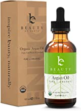 Argan Oil - USDA Organic Moroccan Oils for Face, Hair and Skin - Best Anti-Aging Ingredient for DIY Skincare and Hair Care Products, Safe for All Skin Types, 2oz