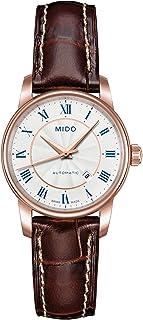 MIDO - Baroncelli M76002218 - Reloj para Mujeres, Correa de Cuero Color marrón