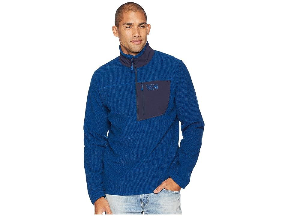 Mountain Hardwear Toasty Twill Fleece 1/2 Zip (Nightfall Blue) Men