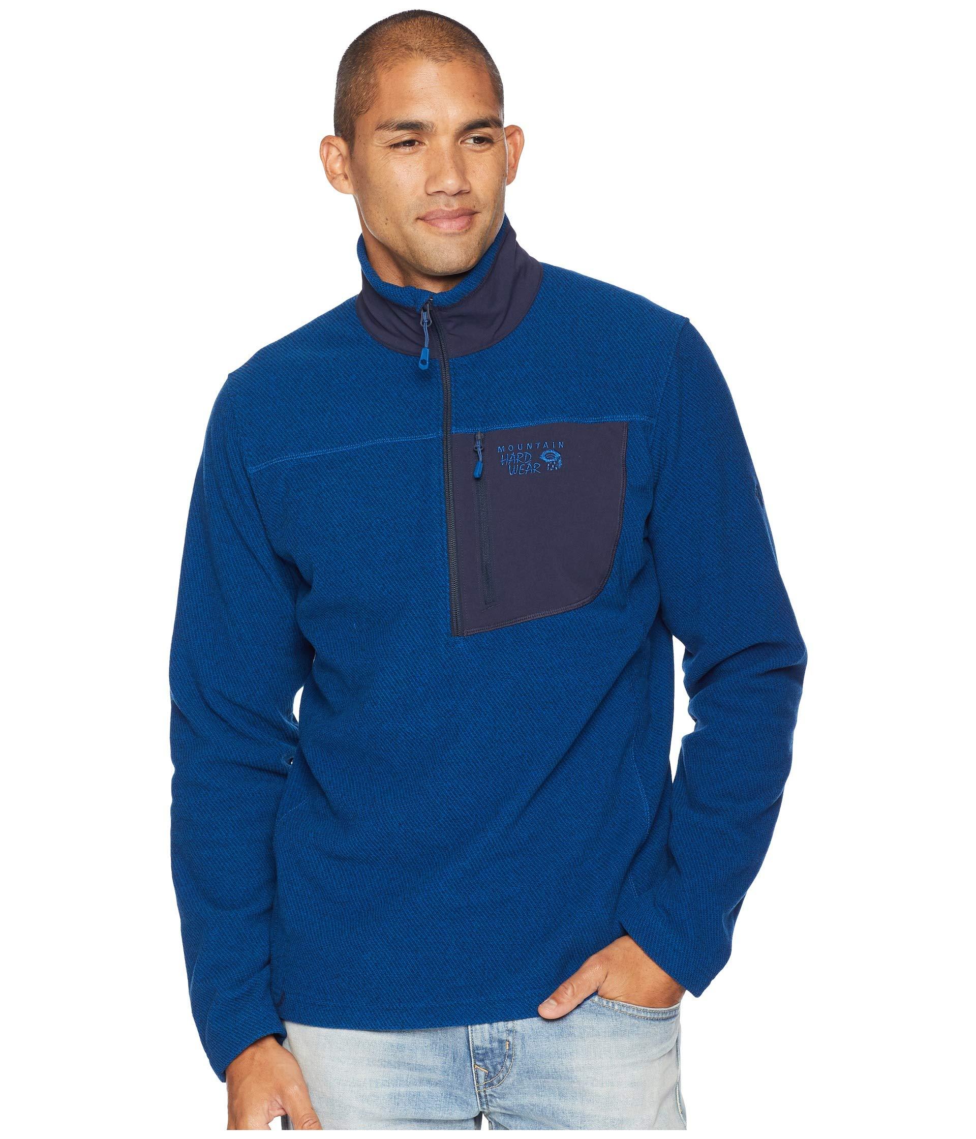 Blue 1 2 Zip Fleece Twill Mountain Nightfall Toasty Hardwear xqwBSCv8