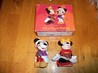Disney Mickey and Minnie Mouse Salt and Pepper Shakers Set