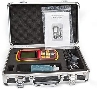 DecentGadget Ultrasonic Thickness Meter Tester Gauge Velocity 1.2~225mm Metal Wave