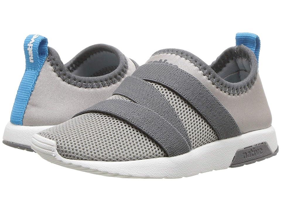Native Kids Shoes Phoenix (Toddler/Little Kid) (Pigeon Grey/Dublin Grey/Shell White) Kids Shoes
