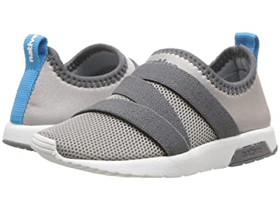 Native Kids Shoes Phoenix (Toddler/Little Kid) (Pigeon Grey/Dublin Grey/Shell White) Kids Shoes