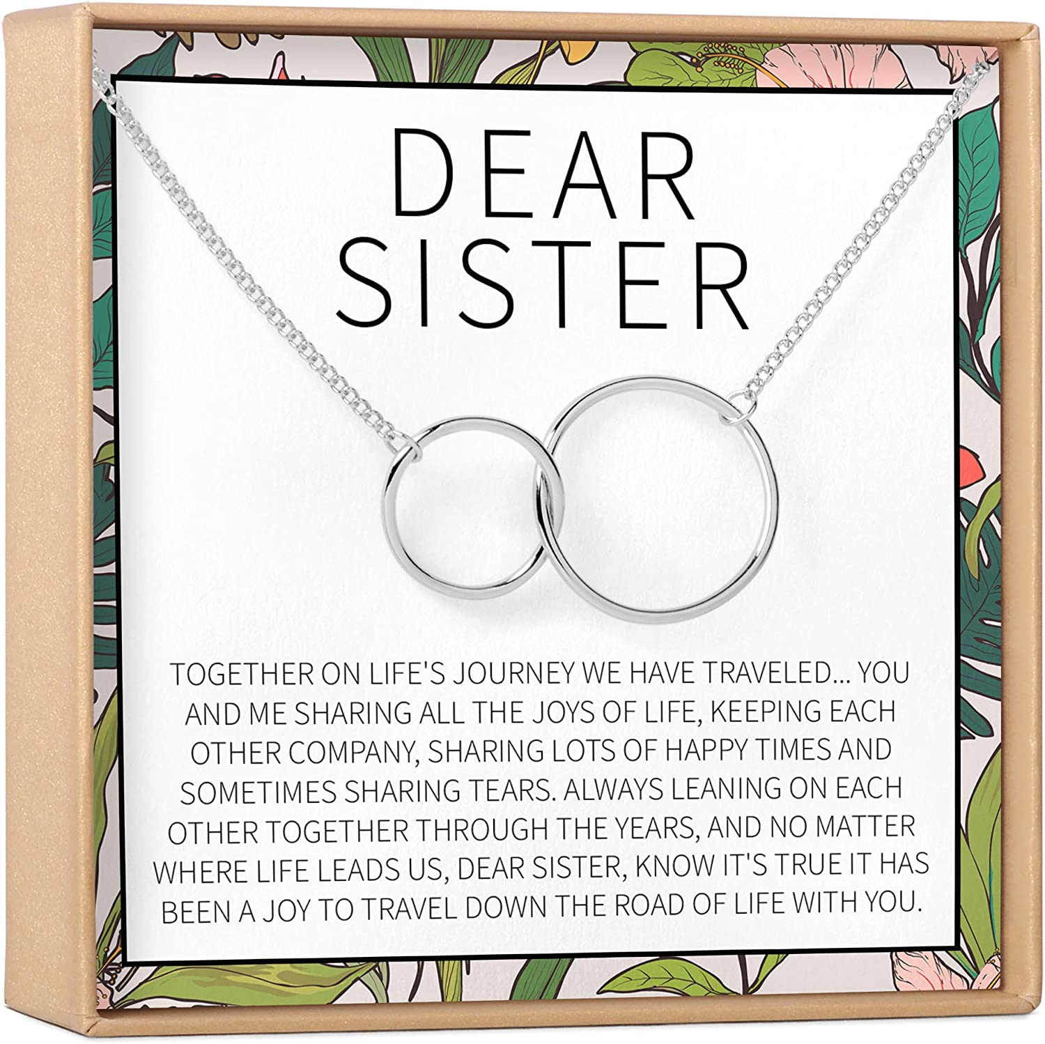 Ranking Max 49% OFF TOP15 Sisters Gift Necklace: Sister 2 Birthday Big